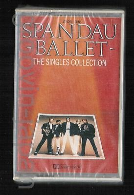 Sealed SPANDAU BALLET The Singles Collection JAPAN CASSETTE TAPE ZR28-1348 w/PS