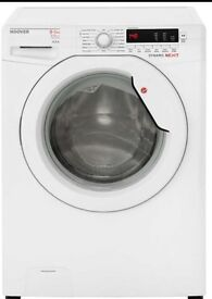 Hoover WDXCE4852 Washer Dryer in White 1 year old, excellent condition RRP £384 selling for £180