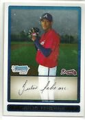 2009 Bowman Chrome Julio Teheran