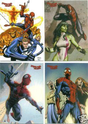 2009 SPIDERMAN ARCHIVES MARVEL COMIC TRADING CARD SET