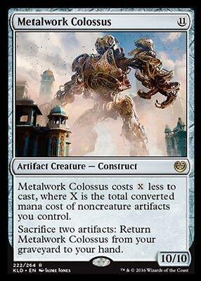 MTG: Metalwork Colossus - Rare Artifact - Kaladesh - KLD - Magic Card