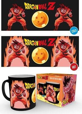 Dragon Ball Z Anime - Goku Kaioken Power Up - Officially Licensed Heat Mug