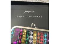 Paperchase Jewel Clip Purse