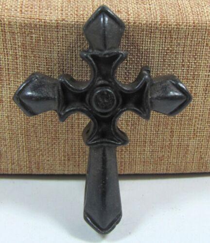 "2.07""HONGSHAN Culture Hand-carved Cross carving Meteorite Pendant"