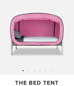 Pink Privacy Pop Bed Tent
