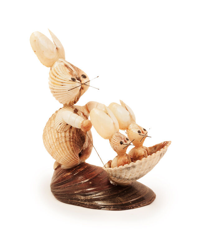 Top 6 seashell crafts for kids ebay for Seashell ornaments craft