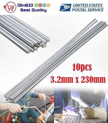 10pcs 3.2x230mm Aluminium Low Temperature Welding Soldering Brazing Repair Rod
