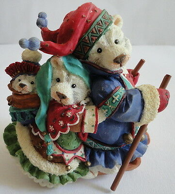 Polar Kins Enesco A Little Love Goes A Long Way Christmas Polar Bear Family