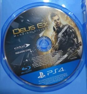 PS4 Deus Ex Mankind Divided Game (CD Only)