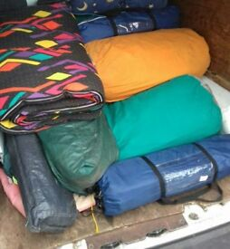 Job lot tents/ground mats ONLY HAVE A FEW LEFT