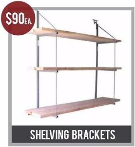 Shelving Brackets - The Container Guy