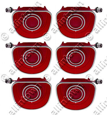 1968 68 CHEVY Impala Caprice SEQUENTIAL LED Taillights Taillight Kit + Flasher