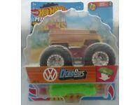Die-Cast Hot Wheels Monster Trucks Drag Bus (NEW & Sealed)