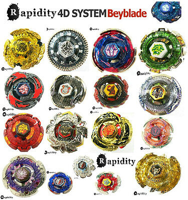 Beyblade 4D system Single Metal 30 STYLE TOP + Power Launcher LOT SET SHIPPING