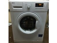 P48 Beko WM74135 7kg 1300Spin White A++Rated LCD Washing Machine 1YEAR WARRANTY FREE DEL N FIT