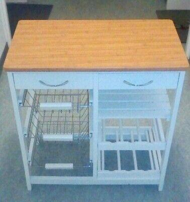 Küchenregal mit Arbeitsplatte aus Holz, Schubladen, Weinregal für die Terrasse