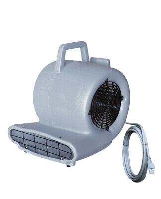 Air Mover Blower Floor Fan 3speed Carpet Gray Dryer Commercial 741709-bai