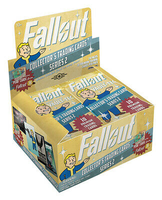 Fallout Trading Cards Series 2  Sealed Hobby Box  Contains 24 Unopened Packs 2 Trading Cards Hobby Box