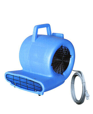 Air Mover Blower Floor Fan 3speed Carpet Blue Dryer Commercial 741711-bai