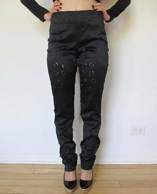 RARE VINTAGE GIGLI JEANS by ROMEO GIGLI COUTURE ITALY 42 US6
