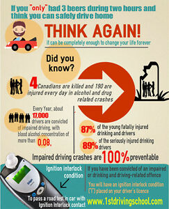Book your road test in car with Breathalyzer Ignition Interlock