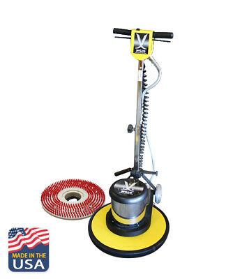 Multi-function Floor Adjustable Buffer 17 Kit Machine Scrubber Burnisher