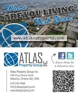 Atlas Property Group: SUMMER SUBLET starting at $350