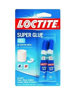 Henkel-loctite 1399965 12 Pack 2gr Super Glue Gel Clear