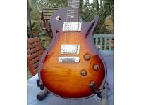 2007 PRS USA SC245 With 10 Top And Bird Inlays.Superb Condition. With hard case . RRP £2890 when new