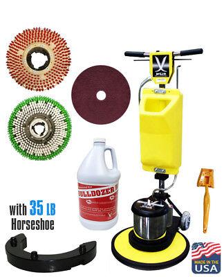 Jl 20premium Floor Polisher Machine With Tankbrushespad Holder630258-asm20