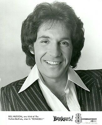 Bill Hudson Smiling Portrait Hudson Brothers Bonkers  Original 1975 Tv Photo