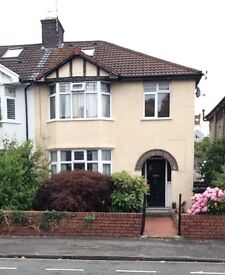 Room to let on top floor of family home Redland.