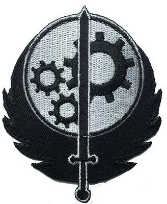 Brotherhood of Steel  Fallout Morale Military 3.5 inch HOOK LOOP  Patch