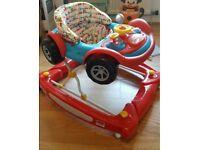 Baby walker - mother car