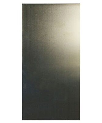 "Nickel Silver Sheet 16ga 6"" x 3"" 1.30mm Thick"