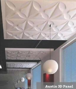 3D PVC Wall Panels in 21 Different Styles ( 19 5/5 x 19 5/8 )