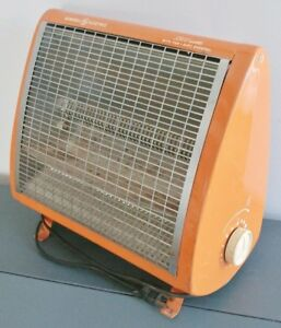 1970s GENERAL ELECTRIC Radiant Space Heater Antique Vintage