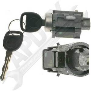 Ignition-Lock-Cylinder-Passlock-Chip-w-New-Keys-Fixes-Security-Light-D1493F