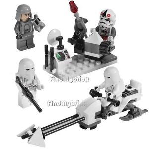 Lego-Star-Wars-8084-Snowtroop-Battle-Pack-No-Box-NEW