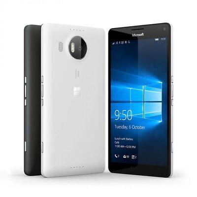 """Neu Ungeöffnet Microsoft Nokia Lumia 950 XL 5.7"""" 4G LTE Smartphone/Schwarz/32GB"""