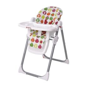 Red Kite Feed Me Deli Apples Highchair