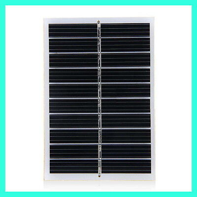 6V Solar Panel 0.9 Watts DIY Solar Battery Charger 150mA DC Harvest Fast Shipping