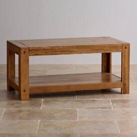 "OakFurnitureLand ""Quercus"" Coffee Table"