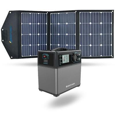 ACOPOWER 400Wh Solar Power Generator Kit