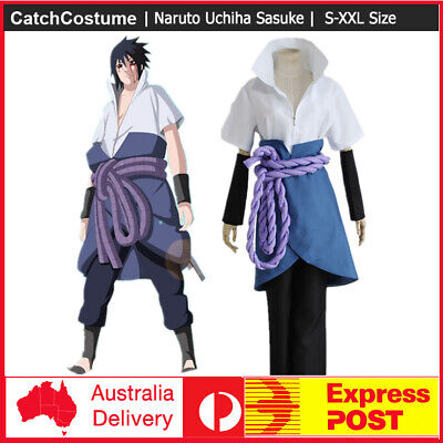 Anime Naruto 3rd Uchiha Sasuke Cosplay Complete Outlet Costume Halloween - Outlet Halloween Costumes