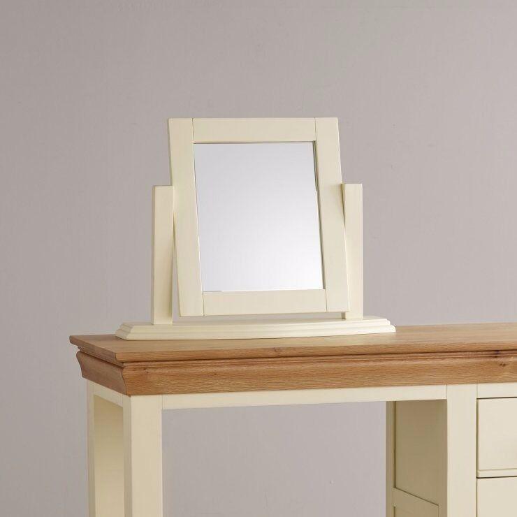 Brand new cream dressing table mirror