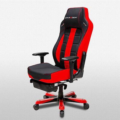 Dxracer Office Chairs Ohca120nr Ergonomic Desk Computer Chair Leg Rest
