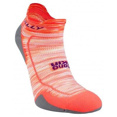 Womens Comfort Lite Sock (Hilly Urban Lite-Comfort Womens Socklet Sports Cushion Sock - Neon Candy/Nickel )