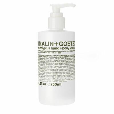 (Bulk Discounts) Malin Goetz Eucalyptus Hand + Body Wash. 8.5 fl.oz., 250ml