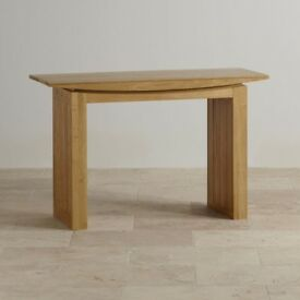 Slim line Tokyo Console Table - Oak Furnitureland